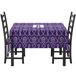 Initial Damask Tablecloth (Personalized)