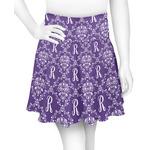 Initial Damask Skater Skirt (Personalized)