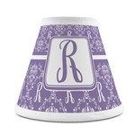 Initial Damask Chandelier Lamp Shade (Personalized)