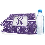Initial Damask Sports & Fitness Towel (Personalized)
