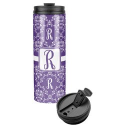 Initial Damask Stainless Steel Tumbler (Personalized)