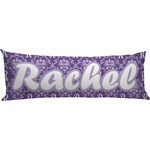 Initial Damask Body Pillow Case (Personalized)