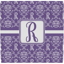 Initial Damask Ceramic Tile Hot Pad (Personalized)