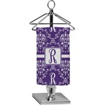 Initial Damask Finger Tip Towel - Full Print (Personalized)