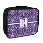 Initial Damask Insulated Lunch Bag (Personalized)
