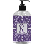 Initial Damask Plastic Soap / Lotion Dispenser (Personalized)