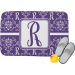 Initial Damask Memory Foam Bath Mat (Personalized)