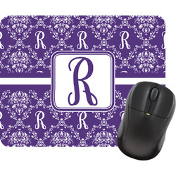 Initial Damask Mouse Pad (Personalized)