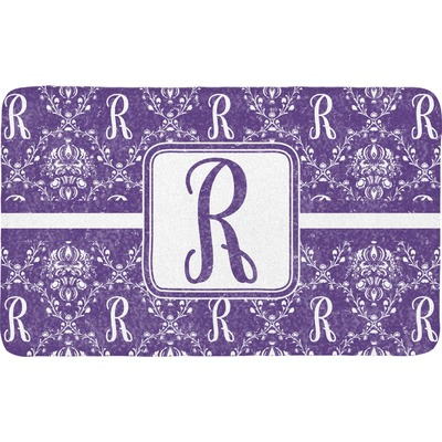 Initial Damask Bath Mat (Personalized)
