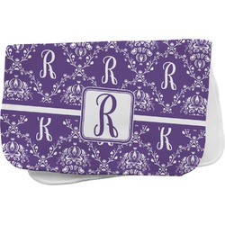 Initial Damask Burp Cloth (Personalized)