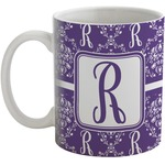Initial Damask Coffee Mug (Personalized)
