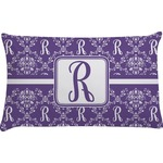 Initial Damask Pillow Case (Personalized)