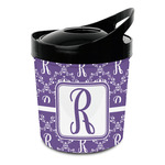 Initial Damask Plastic Ice Bucket (Personalized)