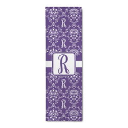 Initial Damask Runner Rug - 3.66'x8' (Personalized)