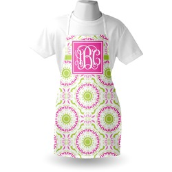 Pink & Green Suzani Apron (Personalized)