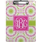 Pink & Green Suzani Clipboard (Personalized)