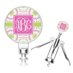 Pink & Green Suzani Corkscrew (Personalized)