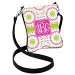Pink & Green Suzani Cross Body Bag - 2 Sizes (Personalized)