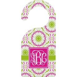 Pink & Green Suzani Door Hanger (Personalized)