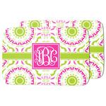 Pink & Green Suzani Dish Drying Mat (Personalized)