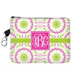 Pink & Green Suzani Golf Accessories Bag (Personalized)
