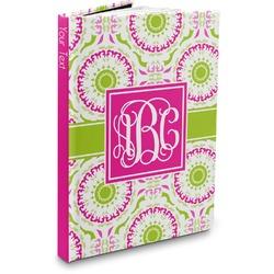 Pink & Green Suzani Hardbound Journal (Personalized)