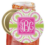 Pink & Green Suzani Jar Opener (Personalized)