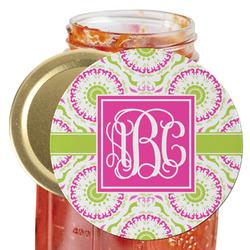 Pink & Green Suzani Jar Opener (Personalized)