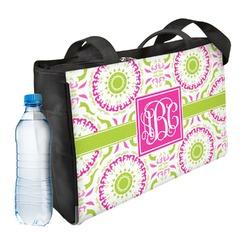 Pink & Green Suzani Ladies Workout Bag (Personalized)