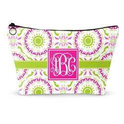 Pink & Green Suzani Makeup Bags (Personalized)