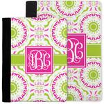 Pink & Green Suzani Notebook Padfolio w/ Monogram