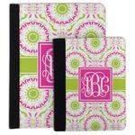 Pink & Green Suzani Padfolio Clipboard (Personalized)