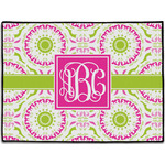 Pink & Green Suzani Door Mat (Personalized)