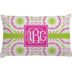 Pink & Green Suzani Pillow Case (Personalized)