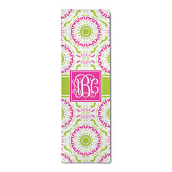 Pink & Green Suzani Runner Rug - 3.66'x8' (Personalized)