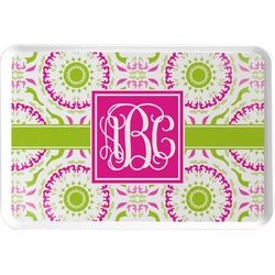 Pink & Green Suzani Serving Tray (Personalized)
