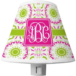 Pink & Green Suzani Shade Night Light (Personalized)