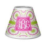 Pink & Green Suzani Chandelier Lamp Shade (Personalized)