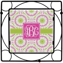 Pink & Green Suzani Trivet (Personalized)