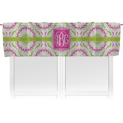 Pink & Green Suzani Valance (Personalized)
