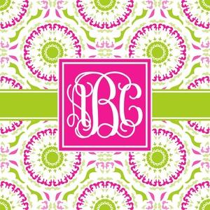 Pink & Green Suzani