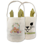 Easter Bunny and Basket Easter Basket (Personalized)