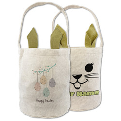 Easter Hanging Eggs Easter Basket (Personalized)