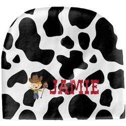 Cowprint w/Cowboy Baby Hat (Beanie) (Personalized)
