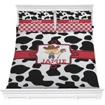 Cowprint w/Cowboy Comforters (Personalized)