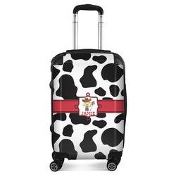 Cowprint w/Cowboy Suitcase (Personalized)