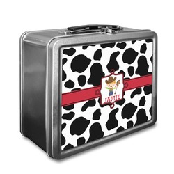 Cowprint w/Cowboy Lunch Box (Personalized)
