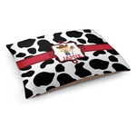 Cowprint w/Cowboy Dog Bed (Personalized)
