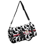 Cowprint w/Cowboy Duffel Bag (Personalized)