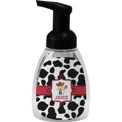 Cowprint w/Cowboy Foam Soap Dispenser (Personalized)